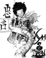 kym and The Dragon by SmithByDesign