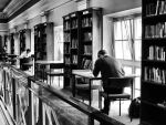 Library scene by daliscar
