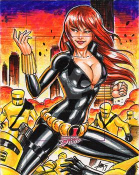 Special Commish BLACK WIDOW by PAC23
