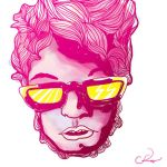 shocking pink perfection by coloroyd
