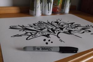 Just Drawing by AirGraffiti