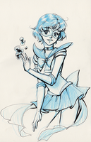 Sailor Mercury [sketch] by Emily-Fay