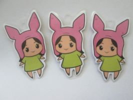 Anthrax! Run for your lives! Louise Keychains by Helter-Skelter-Pro