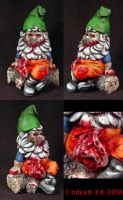 Zombie Gnome OOak Conversion by Undead-Art