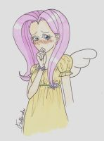 Fluttershy by Biology-of-Pencils