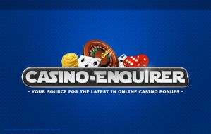 Casino Enquirer Logo by eyenod