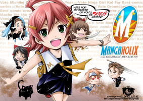 Mangaholix for Komikon Awards by ComiPa