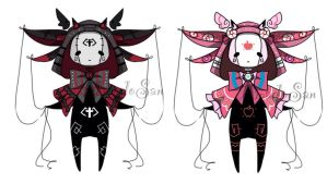 Doll monster pet adoptables CLOSED by AS-Adoptables
