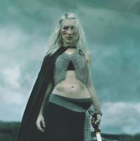 Chainmail halter top 4 by LTgoatRoper