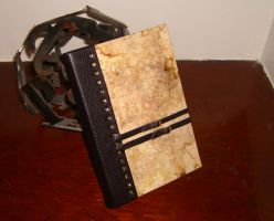 Steampunk Antiqued Book by msjbass