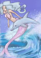 Dolphin Love by Emmikins