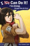 Mikasa Ackerman: One Woman Army by YoukaiYume