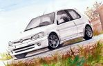 Peugeot 106 rally by zelamilan