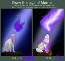 Draw this again! Meme by owlblock