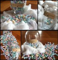Origami - Jar of Lucky Stars by SophieWithLove