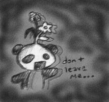 Flowers for Panda by BrightChild