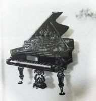 papercutting :piano kirie by masamisato
