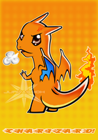 Chibi Charizard by JuriyaShoh
