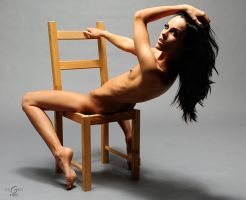 on the chair by euGen-foto