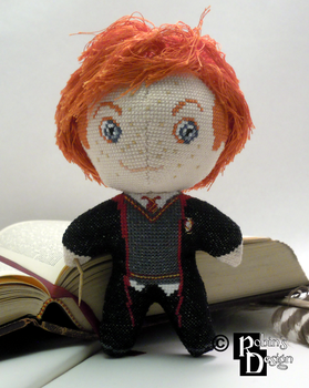 Ron Weasley 3D Cross Stitch Doll by rhaben