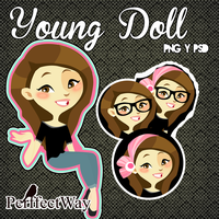 Young Doll PSD by PerffectWay