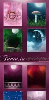 Fantasia Backgrounds by cosmosue