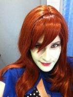 Miss Martian make up test. by seriouslyblondie