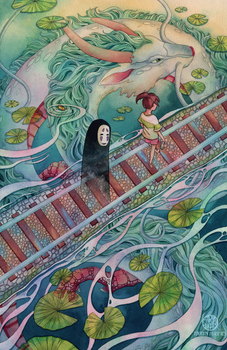 Spirited Away by Calmality