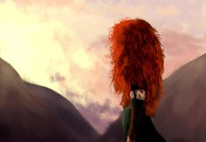 Brave: Merida by IgnitingLights