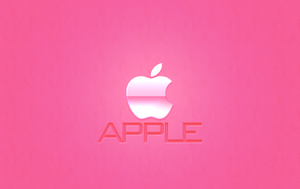 Apple Wallpaper PINK by 1madhatter