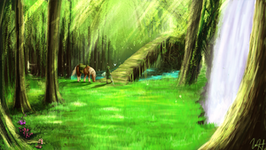 Lost Wood Concept [Commision Piece] by Brony2you