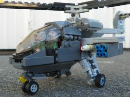 Lego Attack Helicopter (3) by LightbringerCosplay