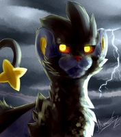 Luxray by Late-S
