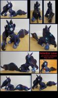 PRINCESS LUNA 15 inch Color Changing custom sculpt by MadPonyScientist