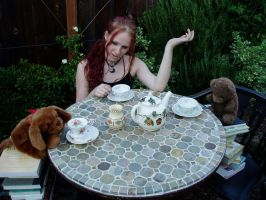 Child's Tea Party 1 by Gealach