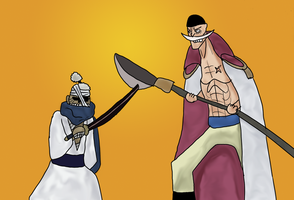 Ryuma vs Whitebeard by DOR20
