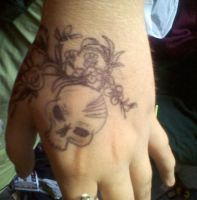 Hand Tatt wip idea 3 by Sampixie
