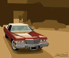 1970's Cadillac by CRWPitman