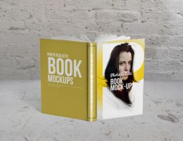 Book / Mockup / Photo Realistic 1 by calwincalwin