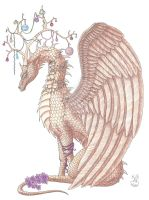 Reindeer Dragon by Scellanis