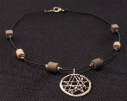 Necronomicon Choker by lavadragon