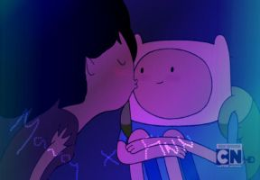 Marcy kisses Finn by teachee