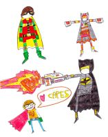 CAPED CAPERS by MANeatingCLOTHES