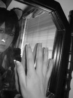 Ritsuka and The Looking-Glass by ButterflyRitsuka
