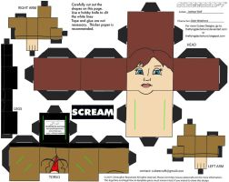 Horror8: Gale Weathers Cubee by TheFlyingDachshund