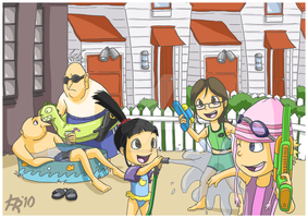 Despicable Me: Summertime Fun by forte-girl7