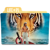 Life of Pi Folder Icon by efest