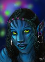 My Na'vi self by ladyleyleybug