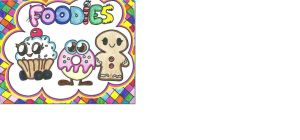 Moshi monsters foodies by Rainbow-lipgloss