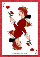 Red Queen of Hearts in Wonderland by Kailie2122